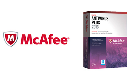 McAffee Antivirus Plus 2013